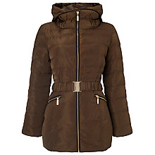 Buy Phase Eight Paula Puffer Jacket, Tobacco Online at johnlewis.com