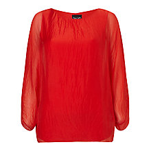 Buy Phase Eight Zinnia Silk Blouse Online at johnlewis.com