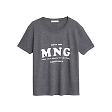 Buy Mango Printed Logo T-Shirt Online at johnlewis.com