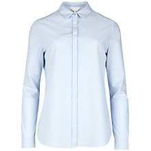 Buy Ted Baker Aviana Dot Stripe Cotton Blend Shirt Online at johnlewis.com