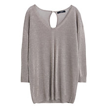 Buy Mango Metallic Finish Jumper Online at johnlewis.com