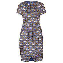 Buy Sugarhill Boutique Gemma Tribal Tile Dress, Multi Online at johnlewis.com