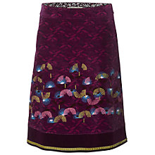 Buy White Stuff Juke Box Skirt, Pink Online at johnlewis.com