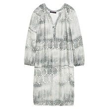 Buy Violeta by Mango Printed Dress, Grey Online at johnlewis.com