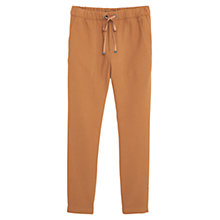 Buy Mango Textured Baggy Trousers Online at johnlewis.com