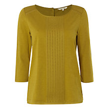 Buy White Stuff Yellow Millie Jersey Top, Yellow Online at johnlewis.com