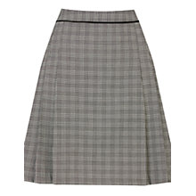 Buy Warehouse Checked Tailored Skirt, Black/Multi Online at johnlewis.com