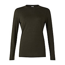 Buy Jigsaw Wool-Blend Crew Neck T-Shirt Online at johnlewis.com