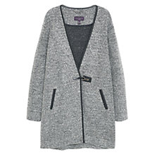 Buy Violeta by Mango Wool Wrapped Coat, Medium Grey Online at johnlewis.com