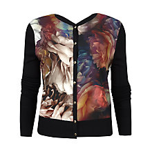 Buy Ted Baker Paulia Technicolour Bloom Cardigan, Multi Online at johnlewis.com