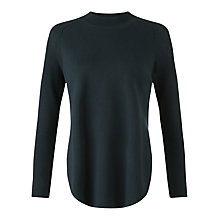 Buy Jigsaw Silk Tencel Blend Slit Jumper Online at johnlewis.com