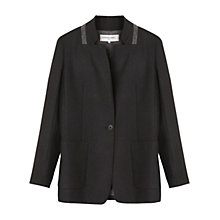 Buy Gerard Darel Baltazar Jacket, Grey Online at johnlewis.com