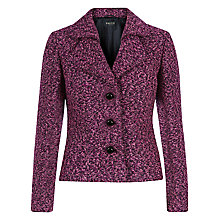 Buy Precis Petite Bouclé Jacket, Pink/Multi Online at johnlewis.com