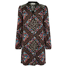 Buy Oasis St Germain Print Dress, Multi Online at johnlewis.com