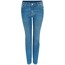 Buy Jaeger Slim Boyfriend Jeans, Pale Blue Online at johnlewis.com