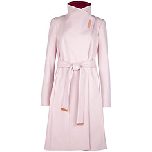 Buy Ted Baker Lorah Long Wrap Clasp Coat Online at johnlewis.com