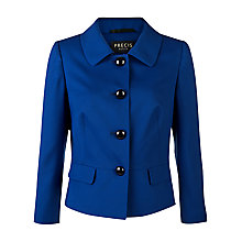 Buy Precis Petite Tailored Jacket, Mid Blue Online at johnlewis.com