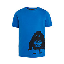 Buy Kin by John Lewis Boys' Monsters T-Shirt, Blue Online at johnlewis.com