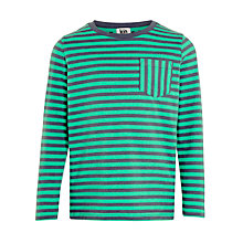 Buy Kin by John Lewis Boys' Bar Stripe Long Sleeve T-Shirt Online at johnlewis.com