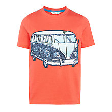 Buy John Lewis Boys' Tropical Camper Van T-Shirt Online at johnlewis.com