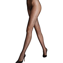 Buy Wolford Swarovski Tights, Black Online at johnlewis.com