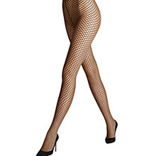 Buy Wolford Sibylle Diamond Tights, Black Online at johnlewis.com