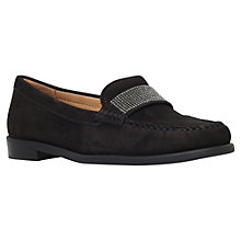 Buy Carvela Comfort Claudie Diamante Vamp Flat Loafers Online at johnlewis.com
