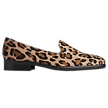 Buy L.K. Bennett Jane Low Block Heeled Loafers Online at johnlewis.com