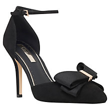 Buy Miss KG Gala Bow Detail High Heel Sandals, Black Online at johnlewis.com