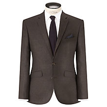 Buy John Lewis Melange Twill Tailored Blazer, Olive Online at johnlewis.com