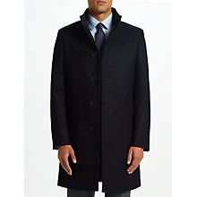 Buy John Lewis Italian Funnel Neck Overcoat Online at johnlewis.com
