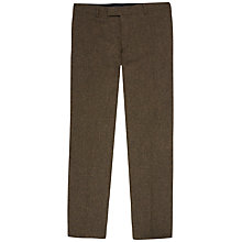 Buy Jaeger Wool Tweed Modern Fit Suit Trousers, Green Online at johnlewis.com