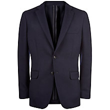 Buy Jaeger Whipcord Wool Blazer, Navy Online at johnlewis.com
