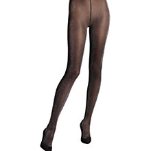 Buy Wolford Stardust Sparkle Tights, Black/Silver Online at johnlewis.com