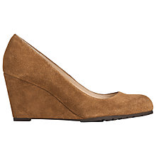 Buy L.K. Bennett Bayleen Suede Wedge Heel Court Shoes Online at johnlewis.com