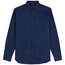 Buy Jaeger Cotton Flannel Twill Shirt Online at johnlewis.com