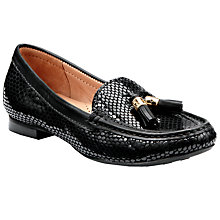 Buy John Lewis Geneva Tassel Snake Pattern Loafers Online at johnlewis.com