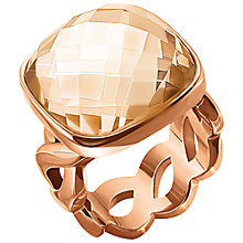 Buy Folli Follie Apeiron Ring, Rose Gold Online at johnlewis.com
