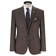 Buy John Lewis Melange Puppytooth Tailored Blazer, Oatmeal Online at johnlewis.com