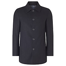 Buy John Lewis Regular Fit Car Coat, Black Online at johnlewis.com