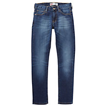 Buy Levi's Boys 520 Skinny Fit Jeans, Blue Online at johnlewis.com