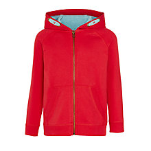 Buy John Lewis Boys' Solid Zip Hoodie Online at johnlewis.com