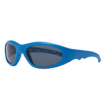 Buy John Lewis Boys' Shark Print Wrap Sunglasses, Blue Online at johnlewis.com