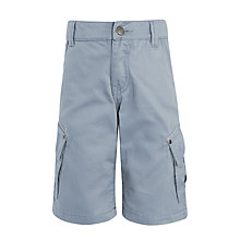 Buy John Lewis Boys' Cargo Shorts, Grey Online at johnlewis.com