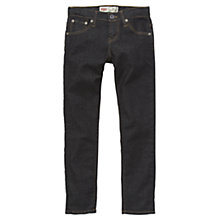 Buy Levi's Boys' 520 Skinny Fit Jeans, Dark Blue Online at johnlewis.com