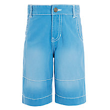 Buy John Lewis Boys' Denim Bermuda Shorts Online at johnlewis.com
