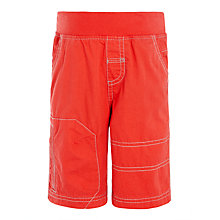 Buy John Lewis Boys' Pull On Shorts, Navy Online at johnlewis.com