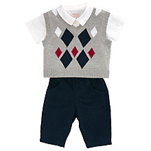 Buy Emile et Rose Henry Three Piece Set, Navy/Grey Online at johnlewis.com