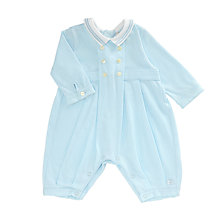 Buy Emile et Rose Baby Henly Jersey Playsuit Set, Blue Online at johnlewis.com