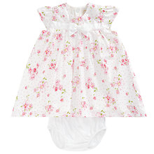 Buy Emile et Rose Baby Hampton Floral Dress and Bottoms Set, Pink Online at johnlewis.com